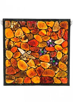 "20""W X 20""H Hummingbird Agata Window (96 142632)"