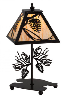 15 inches H Whispering Pines Accent Lamp (180439)