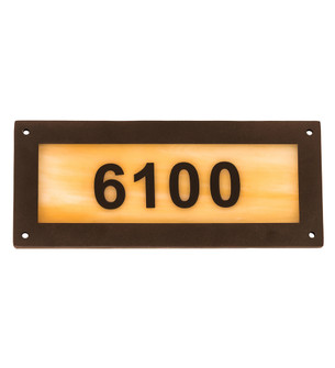 9.5'' Wide Personalized Street Address Sign (96 195162)