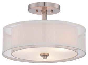 3 LIGHT SEMI FLUSH (10 4107-84)
