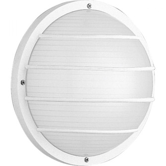 """One-Light 10"""" Wall or Ceiling Mount Bulkhead (149 P5703-30)"""