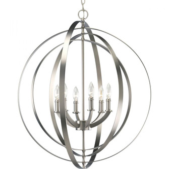 P3889-126 6-60W CAND SPHERE FOYER LANT (149 P3889-126)