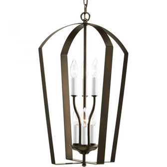 P3929-20 6-60W CANDLE FOYER (149|P3929-20)
