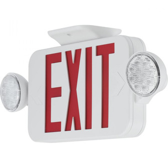 PECUE-UR-30 LED COMBO EXIT/EMERGENCY RED (149 PECUE-UR-30)