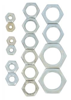 16 ASST STEEL LOCKNUTS (27|S70/152)