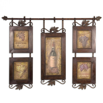 Uttermost Hanging Wine Framed Art (85|50791)