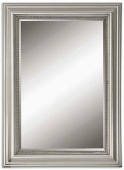 Uttermost Stuart Silver Beaded Mirror (85|12005 B)