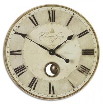 "Uttermost Harrison Gray 23"" Clock (85|06032)"