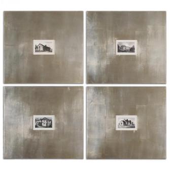 Uttermost Historical Buildings Framed Art Set/4 (85 41295)