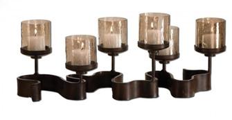 Uttermost Ribbon Metal Candleholders (85|19731)