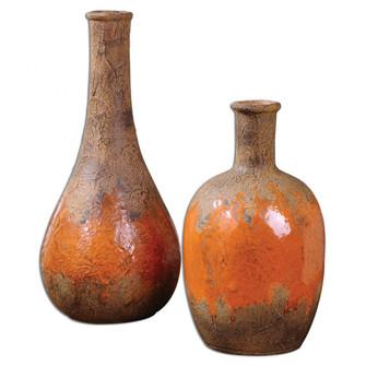 Uttermost Kadam Ceramic Vases S/2 (85|19825)