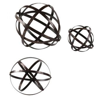 Uttermost Stetson Bronze Spheres S/3 (85|19975)