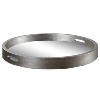 Uttermost Bechet Round Silver Tray (85 19997)