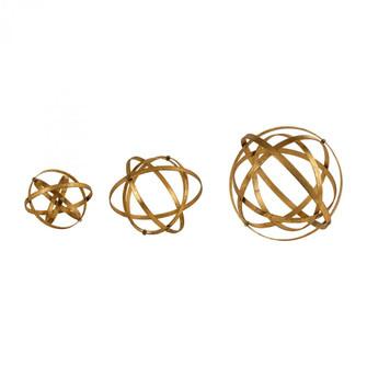Uttermost Stetson Gold Spheres, S/3 (85|20066)