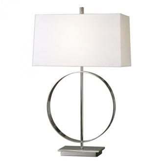Uttermost Addison Polished Nickel Lamp (85|27153-1)
