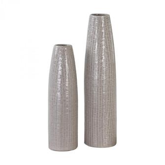 Uttermost Sara Textured Ceramic Vases S/2 (85|20156)