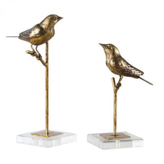 Uttermost Passerines Bird Sculptures S/2 (85|18898)