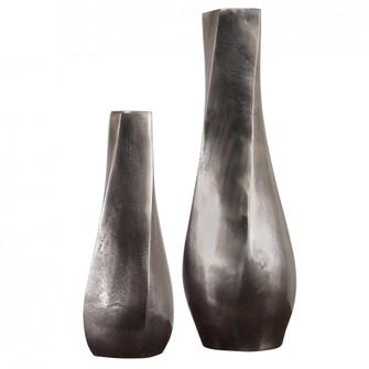 Uttermost Noa Dark Nickel Vases Set/2 (85|18967)