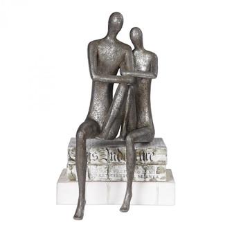 Uttermost Courtship Antique Nickel Figurine (85|18992)