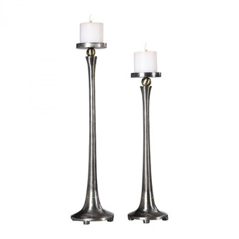 Uttermost Aliso Cast Iron Candleholders Set/2 (85|18994)