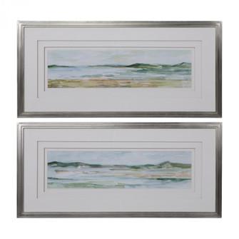 Uttermost Panoramic Seascape Framed Prints Set/2 (85|41594)