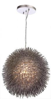 Urchin 1-Lt Pendant - Painted Chrome (158|169P01CH)
