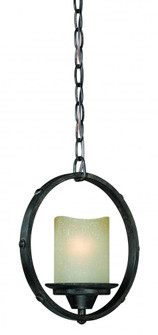 Halifax 10-in Mini Pendant Black Walnut (51|P0159)