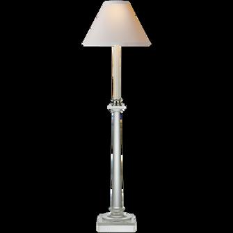 Swedish Column Buffet Lamp (279|CHA 8461CG-NP)