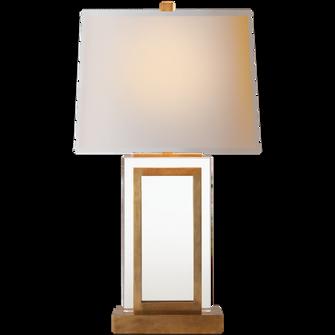 Crystal Panel Table Lamp (279|CHA 8983AB-NP)