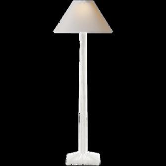 Strie Buffet Lamp (279|CHA 8463WHT-NP)