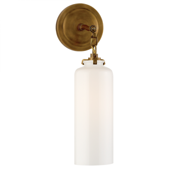 Katie Small Cylinder Sconce (279|TOB 2225HAB/G3-WG)
