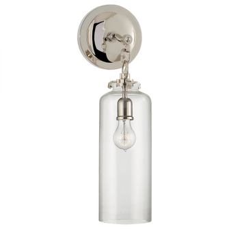 Katie Small Cylinder Sconce (279|TOB 2225PN/G3-CG)