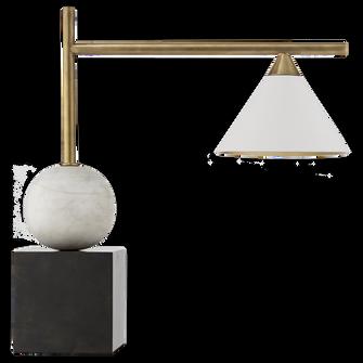 Cleo Desk Lamp (279|KW 3088BZ/AB)