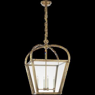 Riverside Medium Square Lantern (279|CHC 3439AB-CG)