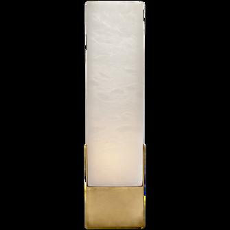 Covet Tall Box Bath Sconce (279|KW 2112AB-ALB)
