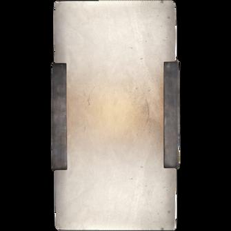Covet Wide Clip Bath Sconce (279|KW 2115BZ-ALB)