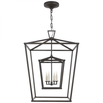 Darlana Large Double Cage Lantern (279|CHC 2179AI)