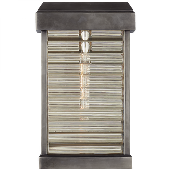 Dunmore Small Curved Glass Louver Sconce (279|CHO 2017BZ-CG)