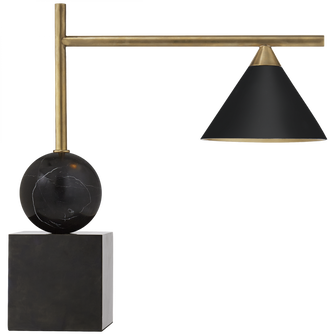 Cleo Desk Lamp (279|KW 3088BZ/AB-BLK)