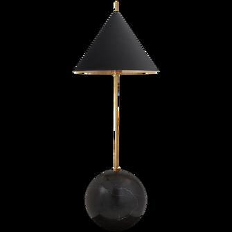 Cleo Orb Base Desk Lamp (279|KW 3118AB/BLK)