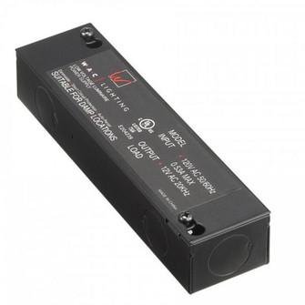 Enclosed Electronic Transformer 120V Input 12V Output (EN-1260-RB-AR)