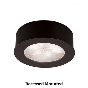 Round LED Button Light (16|HR-LED87-27-BK)