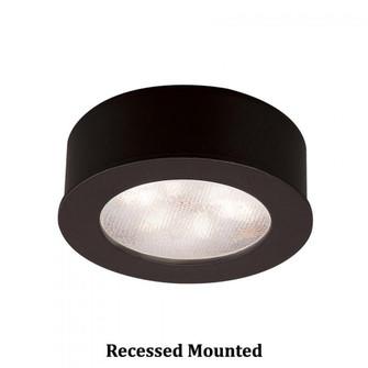 Round LED Button Light (HR-LED87-27-BK)