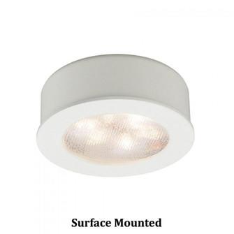 Round LED Button Light (16|HR-LED87-27-WT)