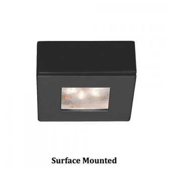 Square LED Button Light (HR-LED87S-27-BK)