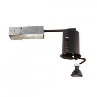2.5in Low Voltage Remodel Housing (16|HR-801-LED-BK)