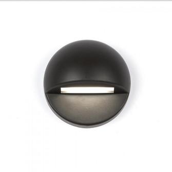 LED 12V Round Deck and Patio Light (16 3011-27BZ)