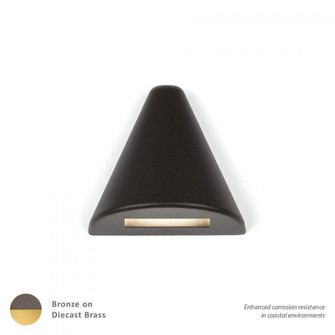 LED 12V Triangle Deck and Patio Light (16 3021-27BBR)