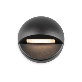 LED 12V Round Deck and Patio Light (16 3011-30BK)