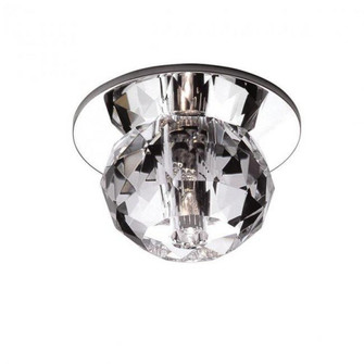 Empress Crystal Recessed Beauty Spot (DR-363LED-CL/CH)